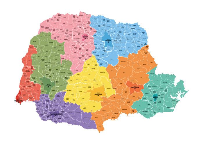 Mapa Gaeco
